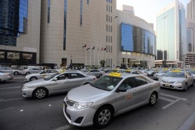 Abu Dhabi Taxis (c) The National